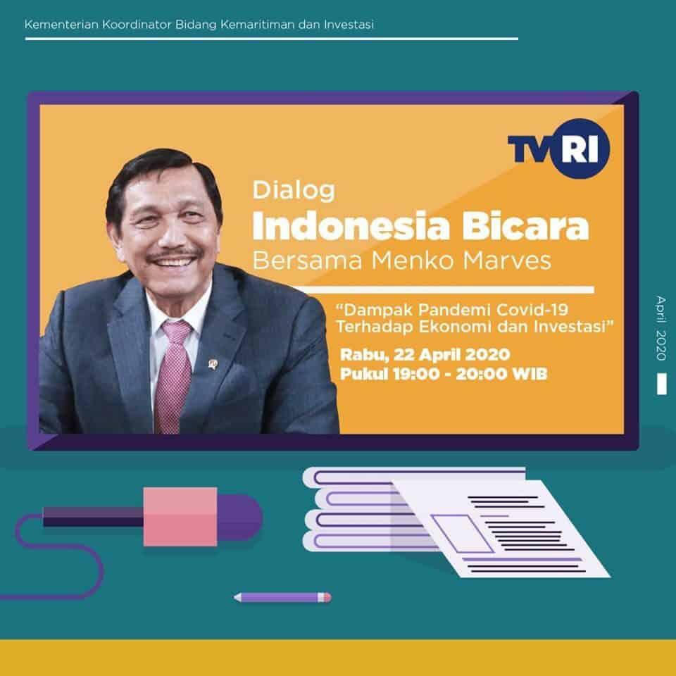Indonesia Bicara – Dampak Pandemi Covid-19 Terhadap Ekonomi dan Investasi