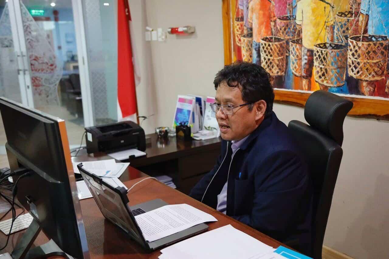 Konferensi Pers Virtual, Deputi Purbaya Bahas UNCLOS dan Kenaikan Tarif Listrik
