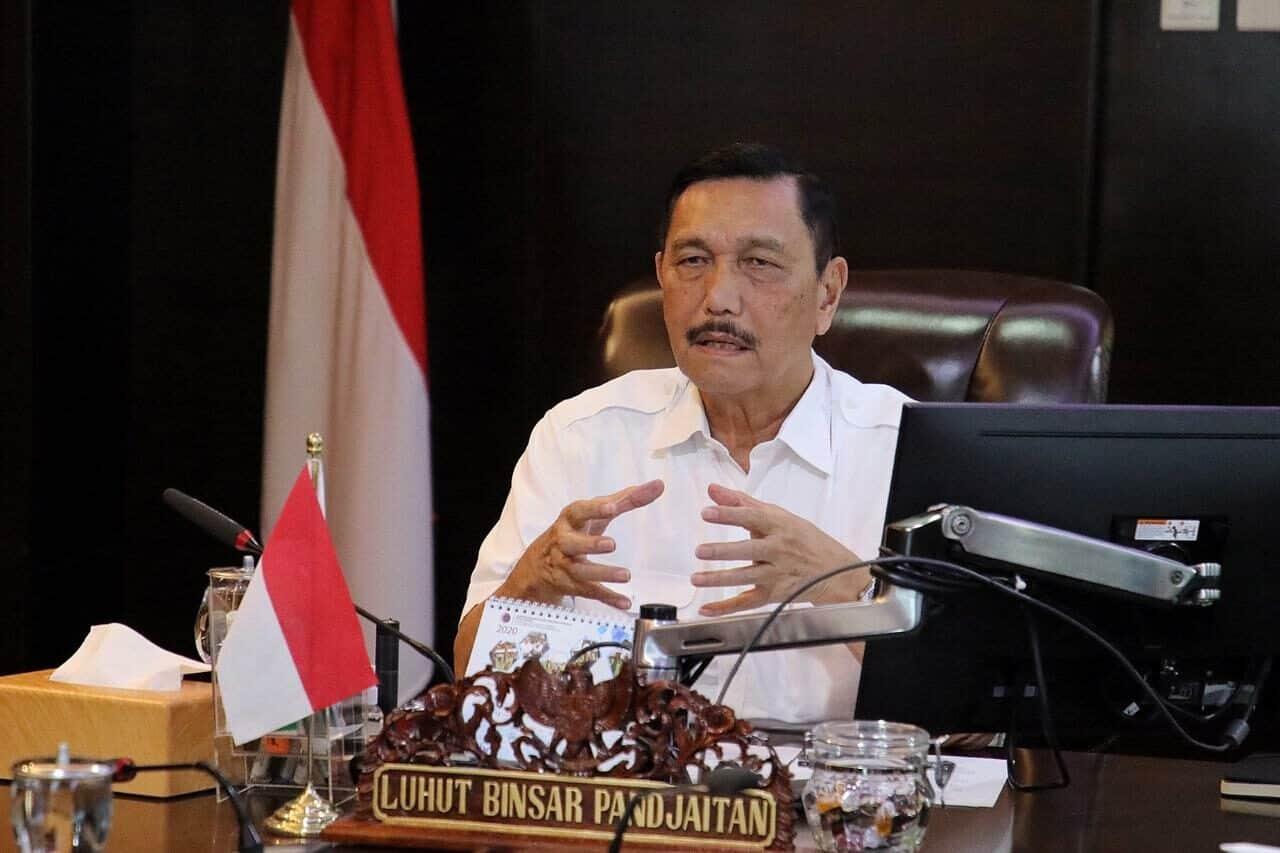 Menko Luhut : Dampak Pandemi Global, ASEAN dan Indonesia Bangun Ekonomi Regional Nasional Lebih Kuat dan Kohesif