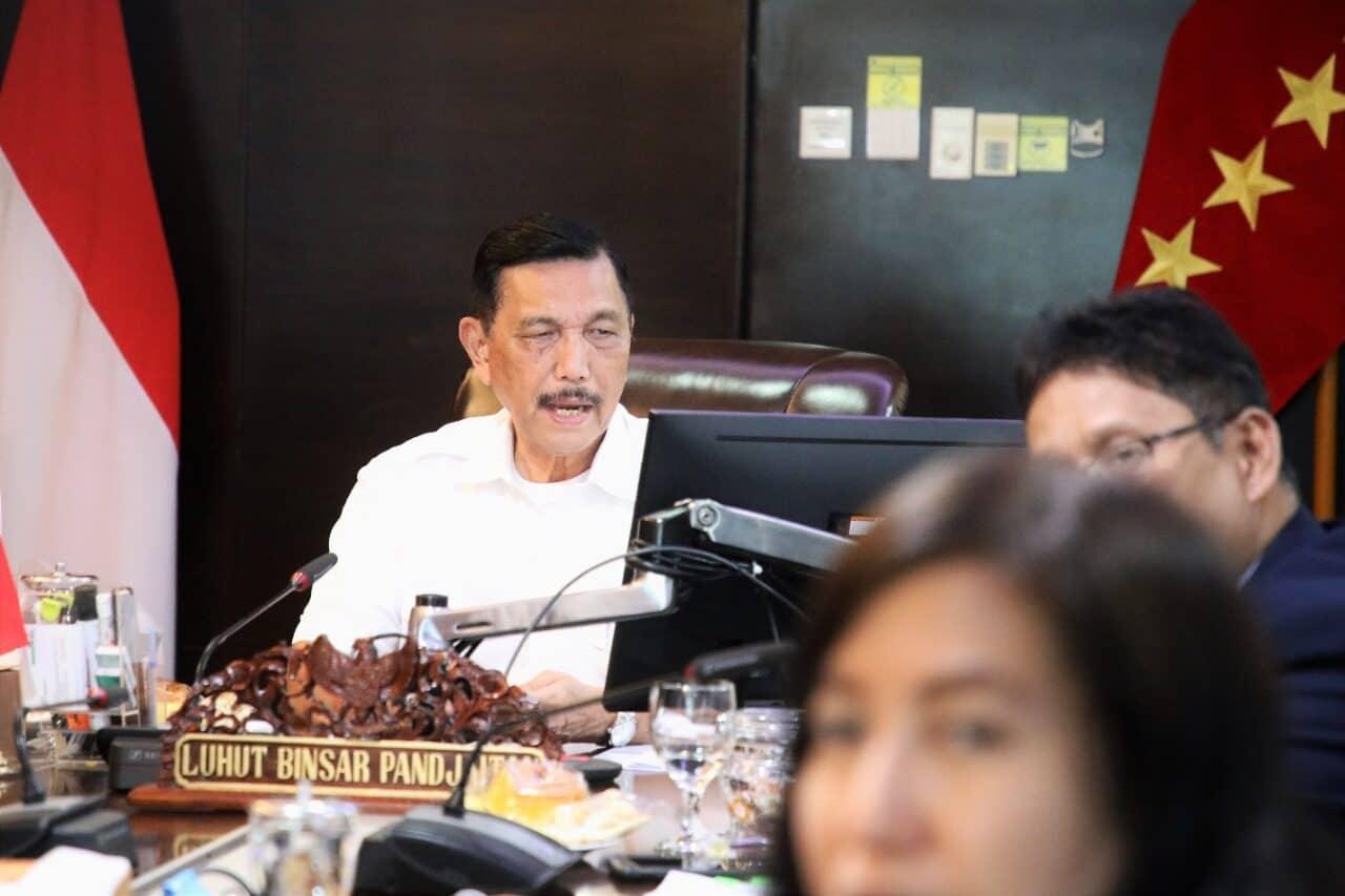 Menko Luhut : Penguasaan Data dan Informasi Kelautan Nasional Mutlak Karena Indonesia Sangat Luas