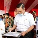 Menko Luhut berharap Pelabuhan Multipurpose bisa kurangi kemiskinan di Manggarai Barat