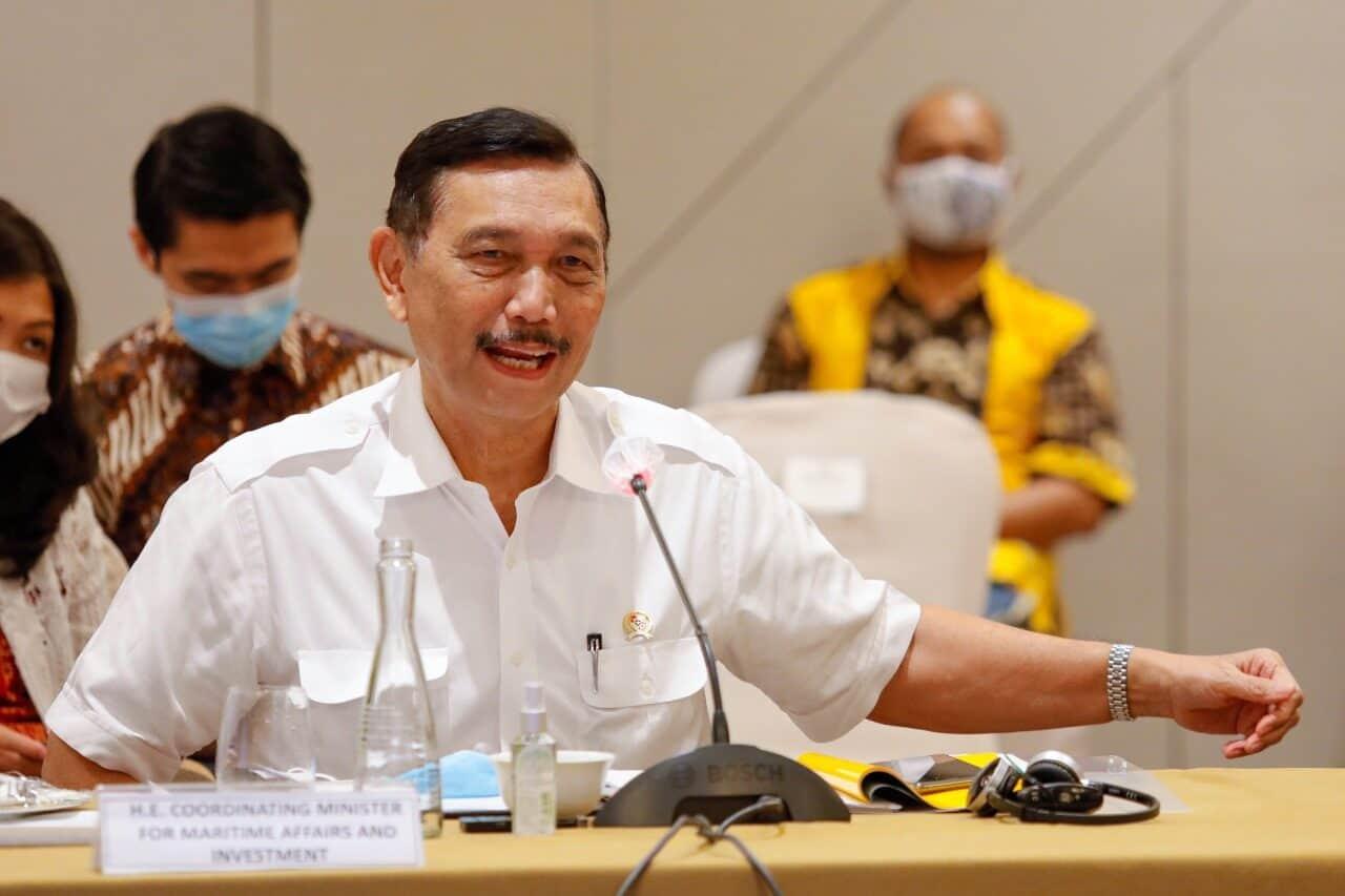 """Menko Luhut : """"Indonesia dan FMG Berkomitmen Mengembangkan Ekonomi Hijau"""