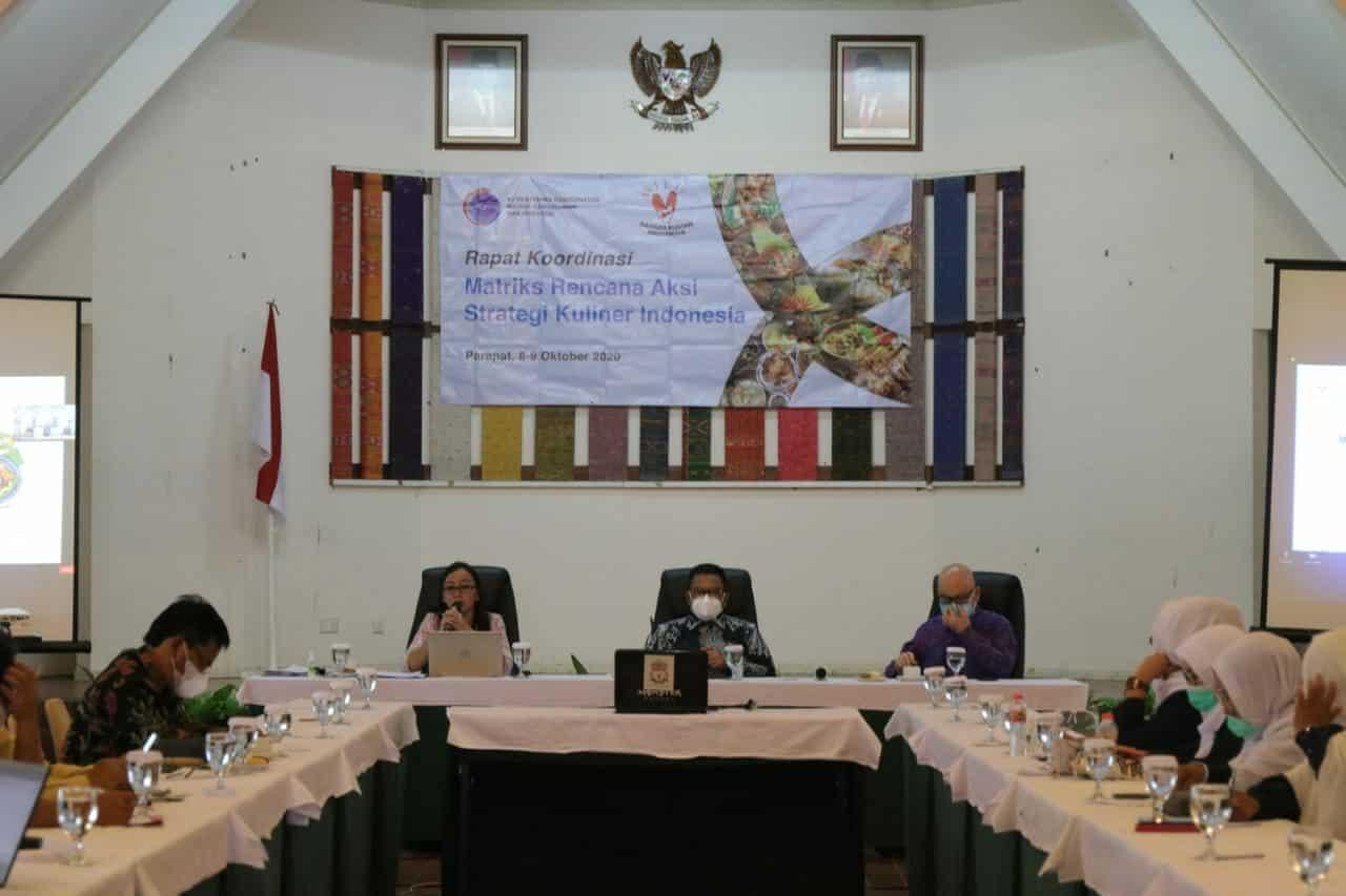 Ingin Kuliner Indonesia Mendunia, Kemenko Marves Koordinasikan Penyusunan Matriks Rencana Aksi Strategi Kuliner Indonesia