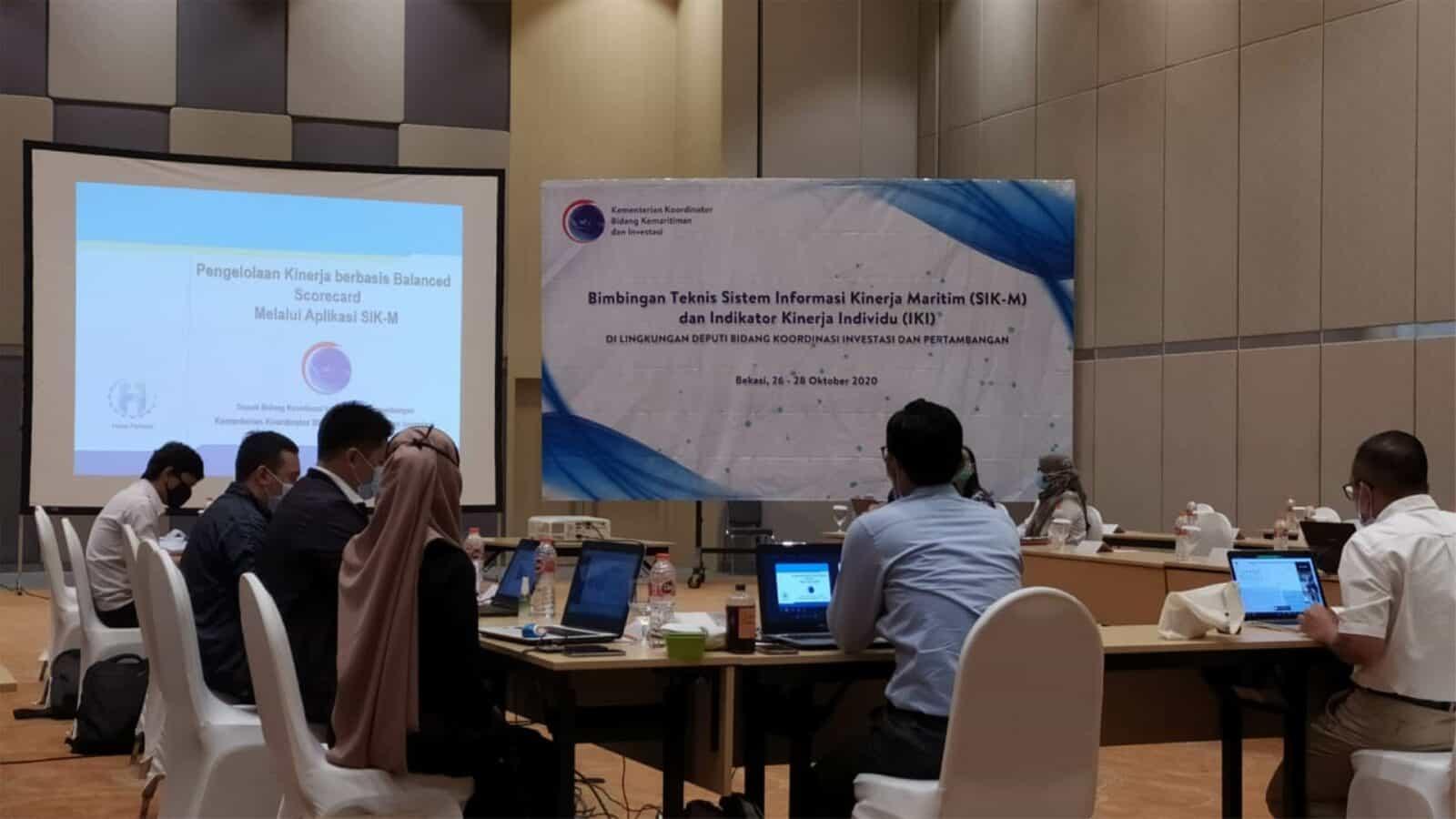 Perkuat Kemampuan Perencanaan dan Akutabilitas Kinerja, Deputi Bidang Koordinasi Investasi dan Pertambangan Kemenko Marves Gelar Bimtek SIK-M