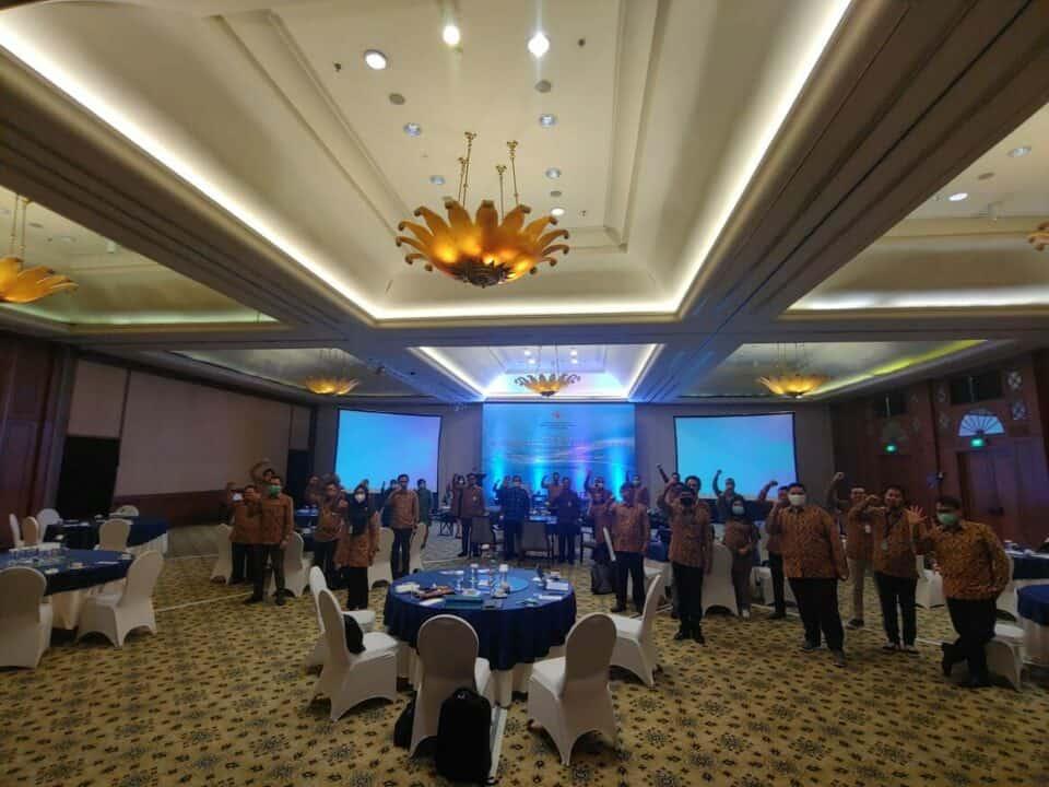 Deputi Bidang Koordinasi Kedaulatan Maritim dan Energi Kemenko Marves Gelar Rapat Kerja Triwulan