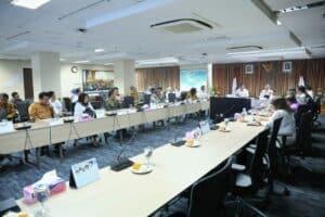 Menko Luhut Pimpin Rakor Persiapan Pelaksanaan World Economic Forum (WEF)