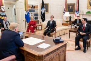 Hari Pertama Kunjungan Menteri Luhut ke Washington DC