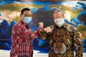 Menko Luhut Menandatangani Deed Of Agreement Antara Indonesia Dengan Austrilia Dan Menandatangani Letter Of Intent