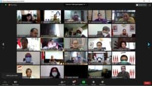 Menko Marves Luhut Memimpin Rapat Koordinasi Pembiayaan Sertifikasi TKDN Secara Virtual
