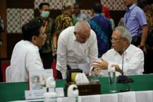 Menko Luhut Pimpin Rapat Program Strategis Infrastruktur Di Kementerian PUPR