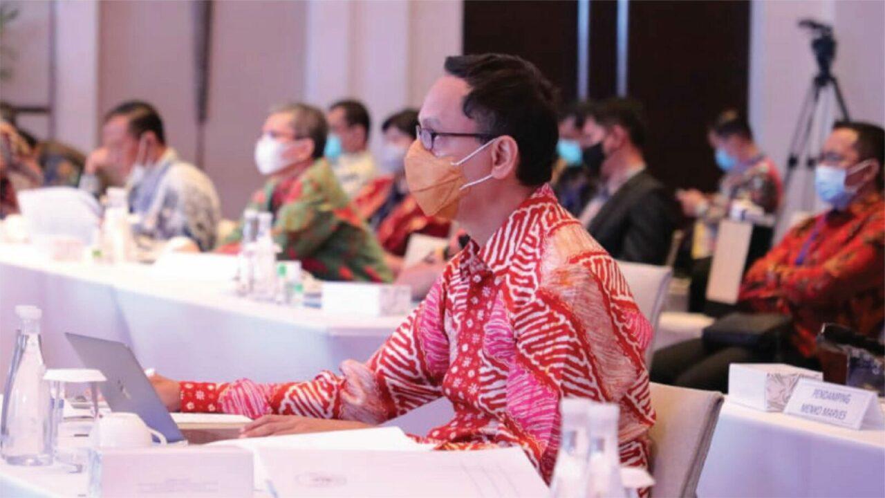 Kemenko Marves Gelar Rakornas Lintas Kementerian dan Lembaga, Menko Luhut Ingatkan Tugas Negara Selesaikan Masalah