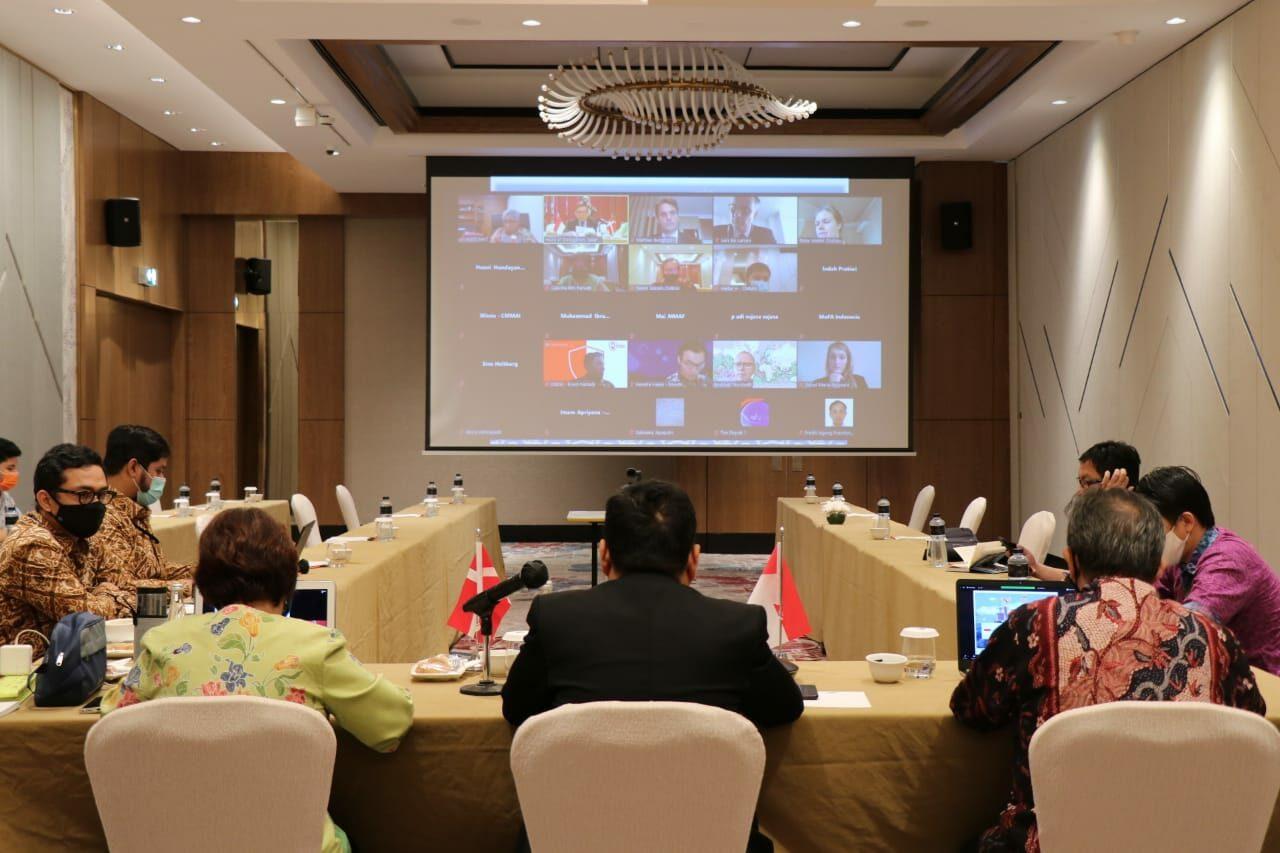 Kembangkan Potensi Kemaritiman Indonesia Denmark, Kemenko Marves gelar Forum Bilateral Kedua