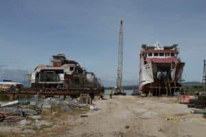 Percepat Pengembangan Infrastruktur Aksesibilitas Danau Toba, Kemenko Marves Tinjau Dermaga Porsea dan Bandara Sibisa