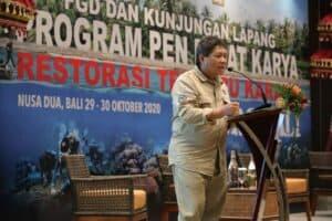 Deputi Safri Hadiri Kegiatan Restorasi Terumbu Karang (ICRG) di Bali