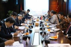 Menko Marves Meeting Bersama Menlu Jepang