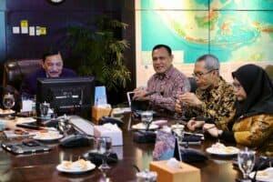Menko Marves Meeting Bersama KPK