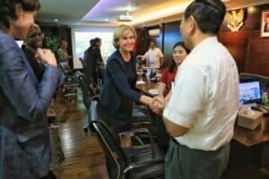 Menko Luhut Melakukan Rapat Dengan CEO World Bank