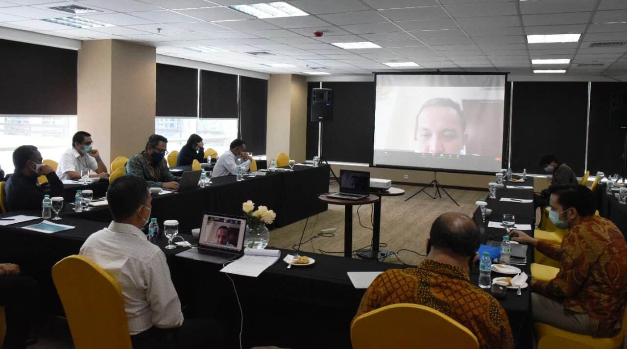 Deputi Koordinasi Bidang Investasi dan Pertambangan Kemenko Marves Bahas Penguatan Upaya Monitoring Arah Perkembangan Perekonomian Indonesia