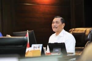 Menko Luhut Vidcon Pelatihan Kepemimpinan Nasional Tk.II (PKN II) Isu Strategis Intergritas Kepemimpinan