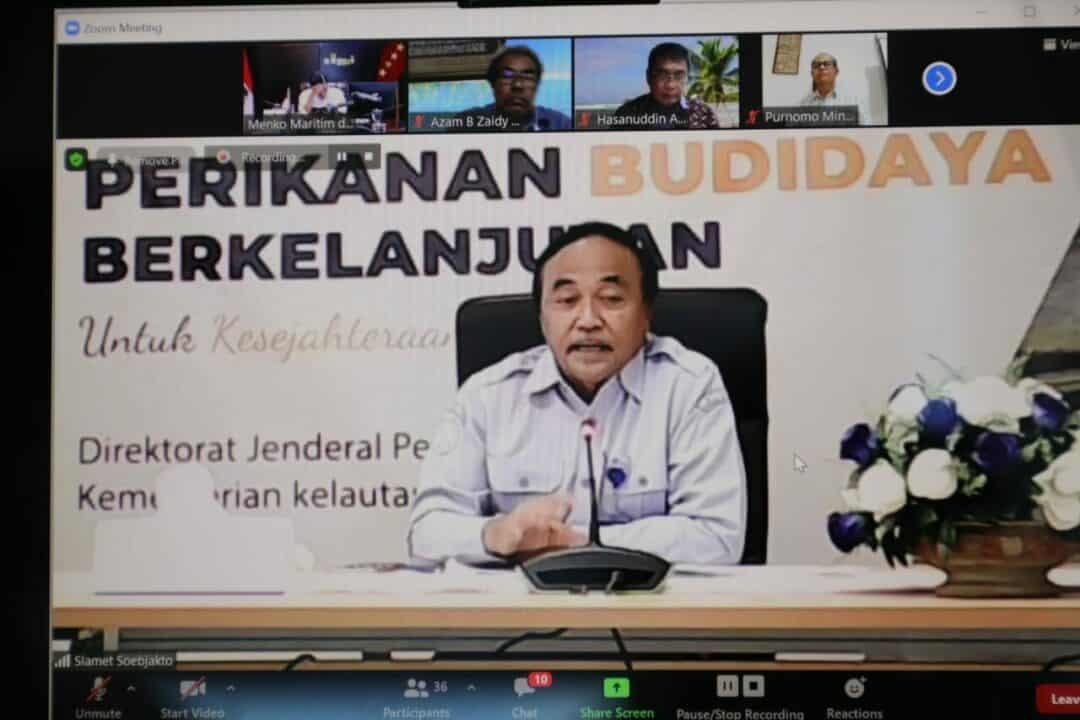 Vidcon FGD Pengembangan Perikanan Budidaya