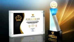 Kemenko Marves Raih Penghargaan Kategori Informatif dalam Anugerah Keterbukaan Informasi Badan Publik Tahun 2020