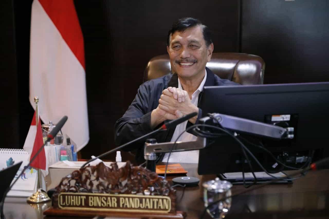 Tingkatkan Volume Ekspor Batu Bara Indonesia, Menko Luhut Hadiri Pertemuan Virtual Pengadaan Batu Bara Impor Indonesia-Tiongkok 2020