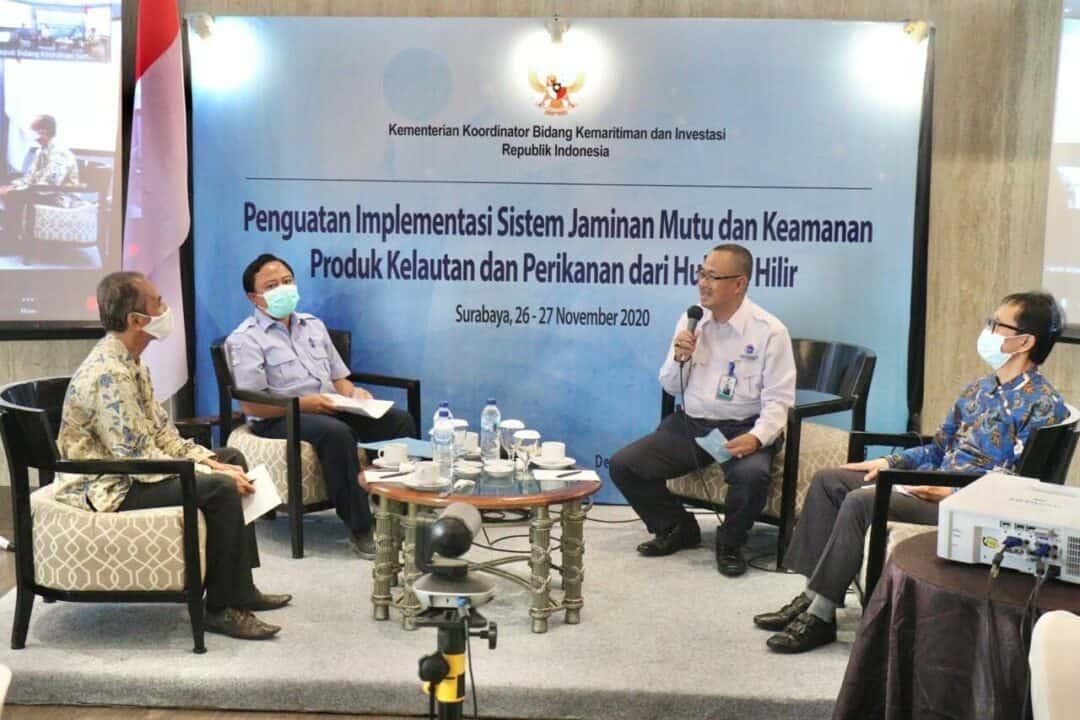 Bahas Jaminan Mutu dan Produk KKP, Pemerintah Fokus Tuna dan Udang