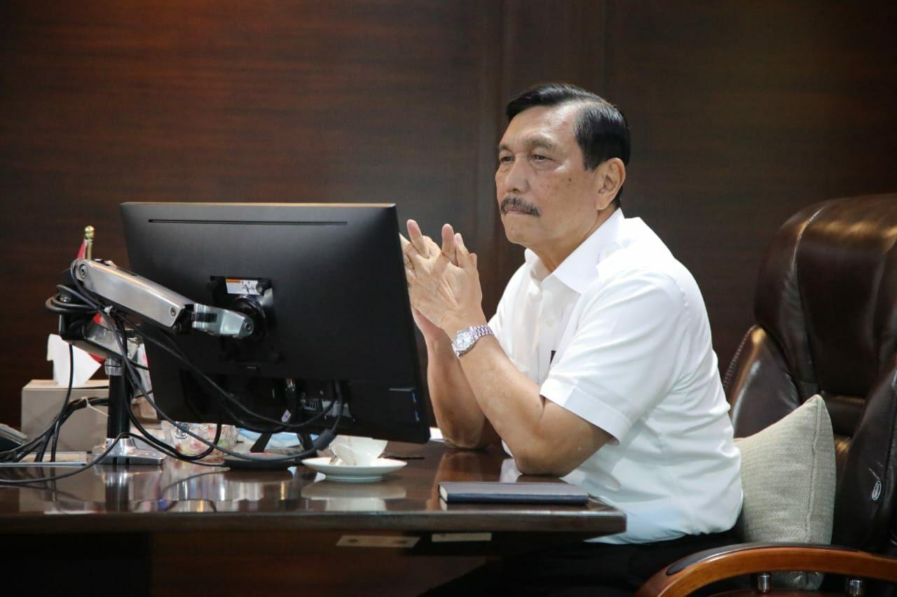 Menko Luhut dalam Forum Tri Hita Karana: Omnibus Law Merupakan Terobosan Untuk Bisnis Indonesia yang Lebih Baik