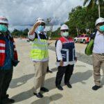 Terjun ke Lapangan, Kemenko Marves Pantau PSN Proses Pembangunan Jalan Tol Ruas Lubuk Linggau-Curup-Bengkulu