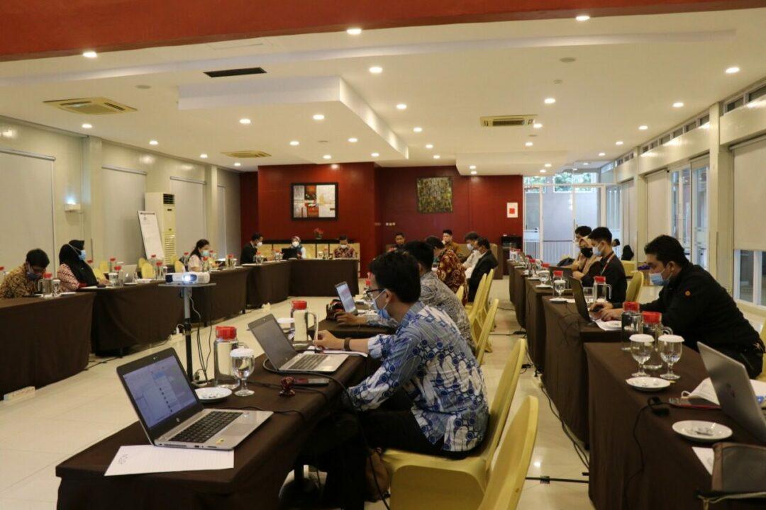 Perkuat Kinerja Kemenko Marves, Deputi Bidang Koordinasi Kedaulatan Maritim dan Energi adakan Monitoring dan Evaluasi Capaian Kinerja 2020