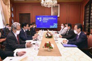 Jepang Sambut Baik Sovereign Wealth Fund Indonesia