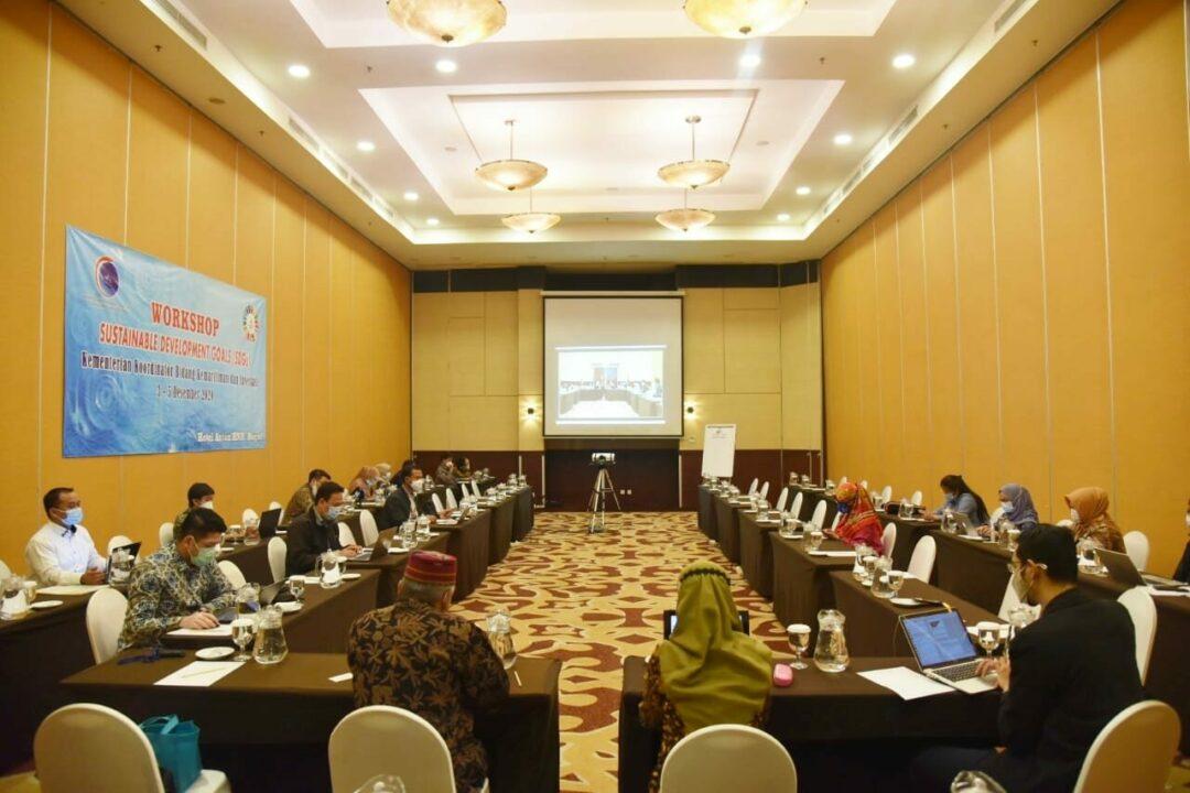 Kemenko Marves Bersama Kementerian Lembaga Finalisasi Penyusunan Matriks Sustainable Development Goals 2020-2024