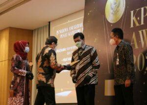 Kementerian Koordinator Bidang Kamaritiman dan Investasi Raih Penghargaan di Ajang KPPU Award 2020