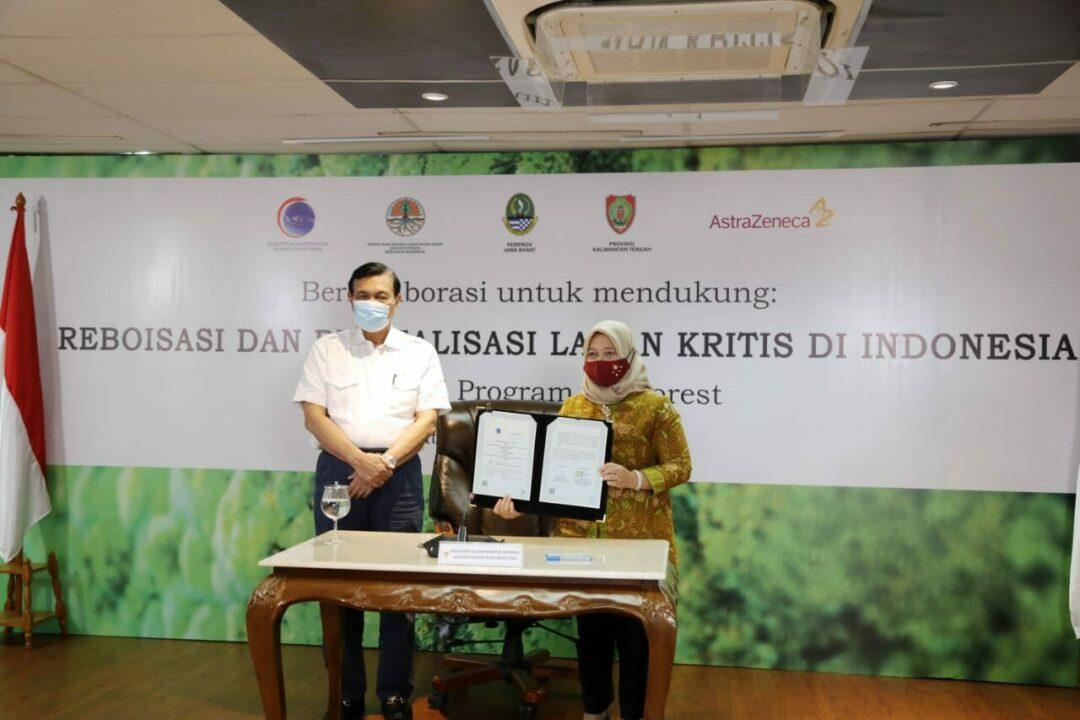 Dukung Tercapainya Lingkungan yang Sehat, Pemerintah dan Swasta Kolaborasi Menanam 20 Juta Pohon di Citarum dan Tanjung Puting