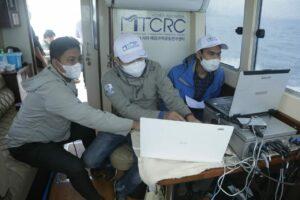 Kapal ARA Kemenko Marves Temukan Potongan Logam di Dasar Laut