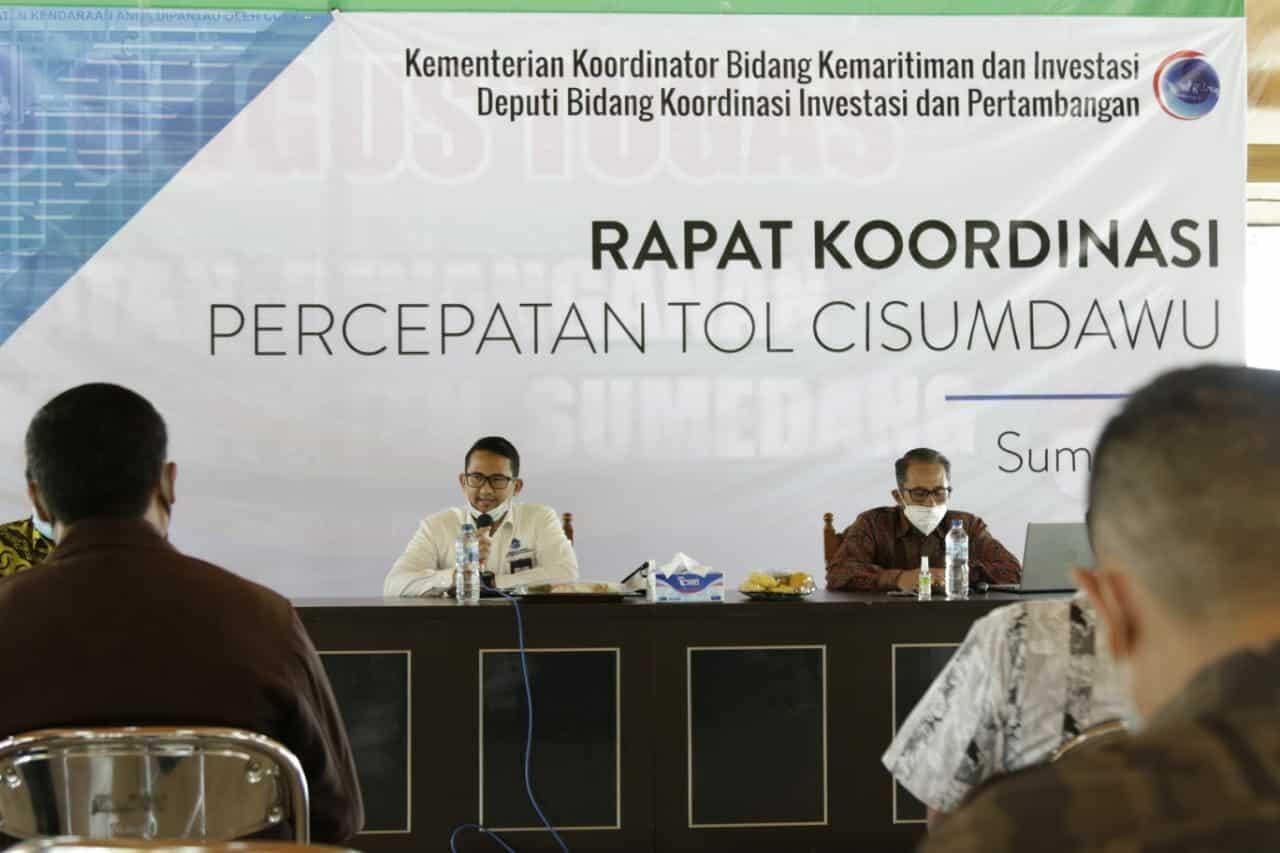 Kejar Target Konstruksi Tahun 2021, Pemerintah Bersama Pemangku kepentingan Diskusikan Soal Pembebasan Tanah untuk Tol Cisumdawu