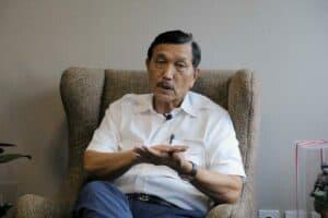 Menko Luhut Interview dengan Media Rakyat Merdeka