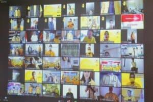 Menko Luhut Menghadiri Acara Peluncuran dan Public Lecturer Golongan Karya (Golkar) Institute secara Virtual