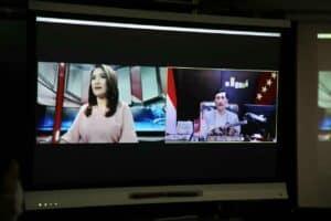 Menko Luhut Pimpin Live Zoom Untuk Menjadi Narasumber Talkshow Program IDX