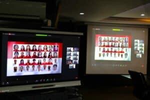 Menko Luhut menjadi Pembicara webinar dari Sinarmas di Kantor Marves