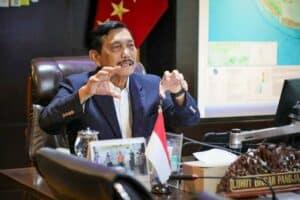 Menko Luhut Vidcon Rakor Implementasi Penggunaan Aspal Buton pada Jalan Nasional/Proyek Nasional di Berbagai Daerah di Indonesia