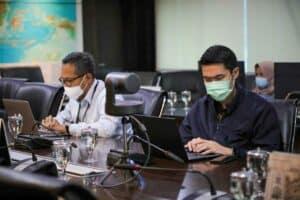 Menko audiensi dengan Octopus Indonesia dengan agenda Daur Ulang Sampah Plastik dan Ekonomo Sirkular