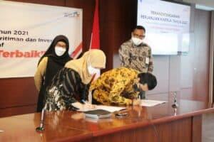 Capai Prestasi Kinerja tahun 2020, Setmenko Marves Siap Toreh Prestasi Kinerja Baru Melalui Penandatanganan PK 2021