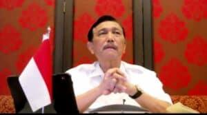 Sama-sama Tingkatkan Perkembangan Ekonomi Di Tahun 2021, Menko Luhut: Saya Minta GP Ansor Jawa Timur Kerja Kompak