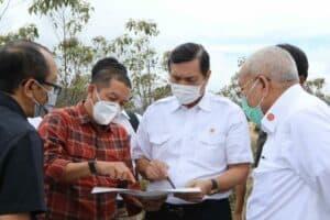Kunjungi Lahan Kawasan Hutan Dengan Tujuan Khusus, Menko Luhut: Kita Siapkan Bibit Unggul dari Pollung