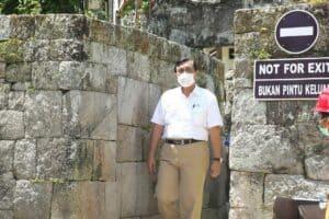 Tinjau Kesiapan DPSP Toba, Menko Marves Lakukan Kunjungan Lapangan Memastikan Kesiapan Sarana dan Prasarana