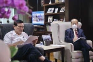Menko Luhut Meeting dengan Menteri Perhubungan, Menteri Kelautan dan Perikanan dan Dubes Tiongkok