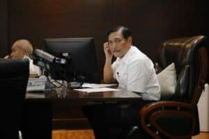Vidcon Rakor Progres Pelaksanaan Peraturan Presiden 79 tahun 2019 dan Pengamanan Pesisir Pantai Utara Jawa Tengah dan Pengembangan Wilayah, Pembangunan Infrastruktur, dan Pengembangan Moda Transportasi yang Terintegrasi