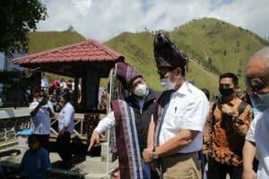 Kunjungan Kerja Menko Luhut ke Demang Resort, Silalahi