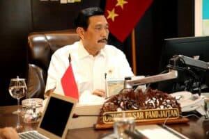 Menko agenda rakor pembangunan infrastruktur Jawa Barat di Kantor Maritim (16-02-2021)